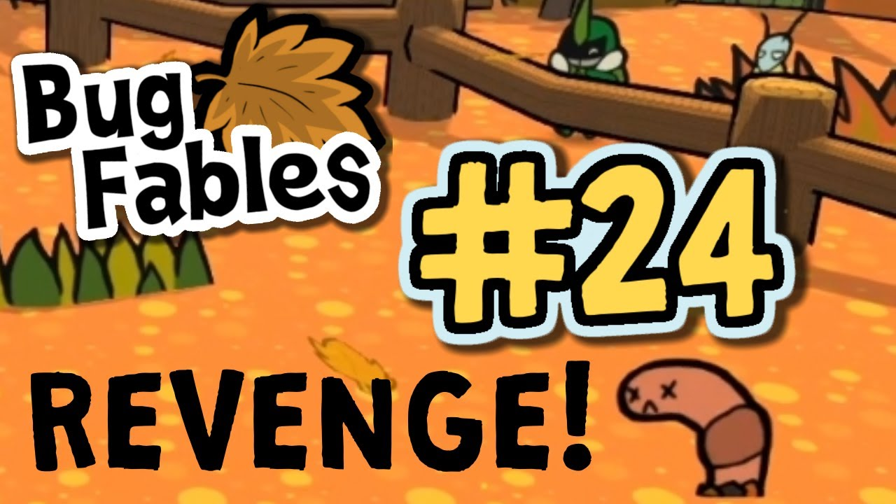 Funny Worm Revenge Rematch : Bug Fables #24  (Minigames)