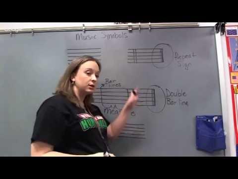 Mixon: Lesson 4,  Music Symbols 1