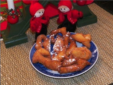 How to make Danske / Norske Klejner cookies. A traditional homemade cookie recipe for Christmas Jul