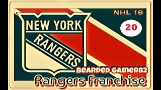 Welcome to Rangers Town - A New York Rangers NHL 18 Franchise Ep. 20