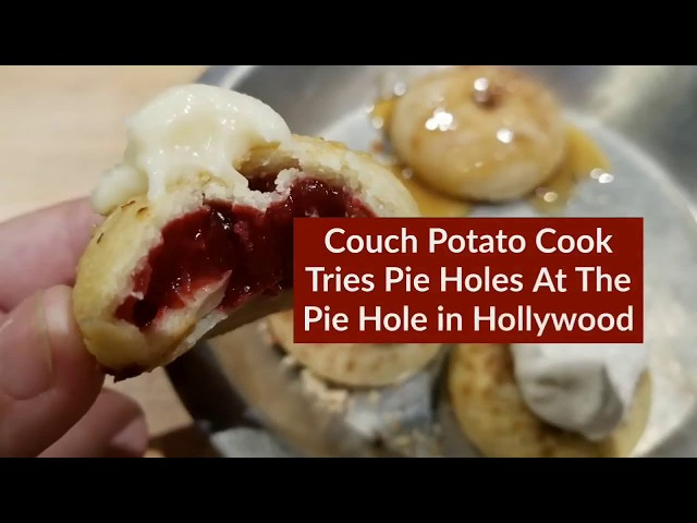 Pie Holes At The Pie Hole Hollywood | CouchPotatoCook.com