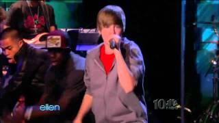 Justin Bieber -Baby  ( Live Ellen DeGeneres March 17 2010)  HD