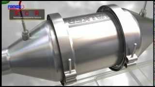Romax DPF + SCR systeem