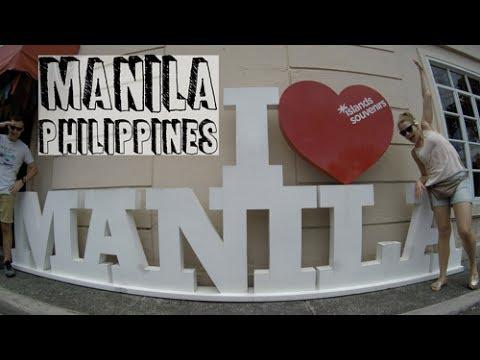 Spanish influence on Manila (Philippines) | Travel Vlog #44