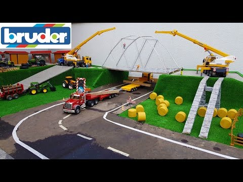 RC BRUDER toys village BRIDGE delivery!