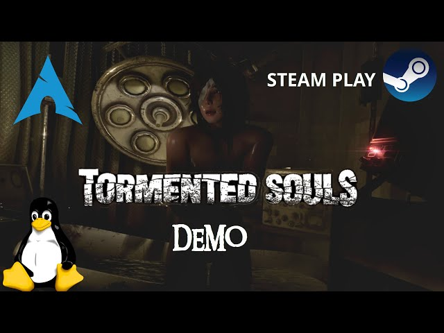 Tormented Souls Demo - Linux - Steam Play | Gameplay