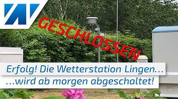 """Endlich geschlossen! Die fragwürdige Wetterstation Lingen wird """"abgeschaltet""""!"""