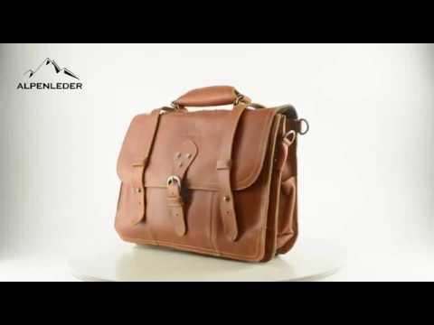 Urban Bozz:  business/backpack LEON van Alpenleder