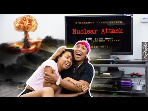 Nuclear Attack *Prank* on Young Ezee and Natalie Odell (They Cry!)  | Ep. 33