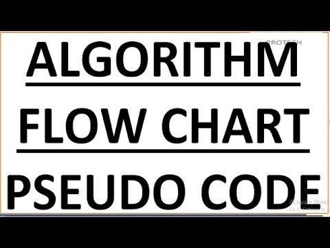 ALGORITHM, FLOW CHART AND PSEUDO CODE (HINDI)