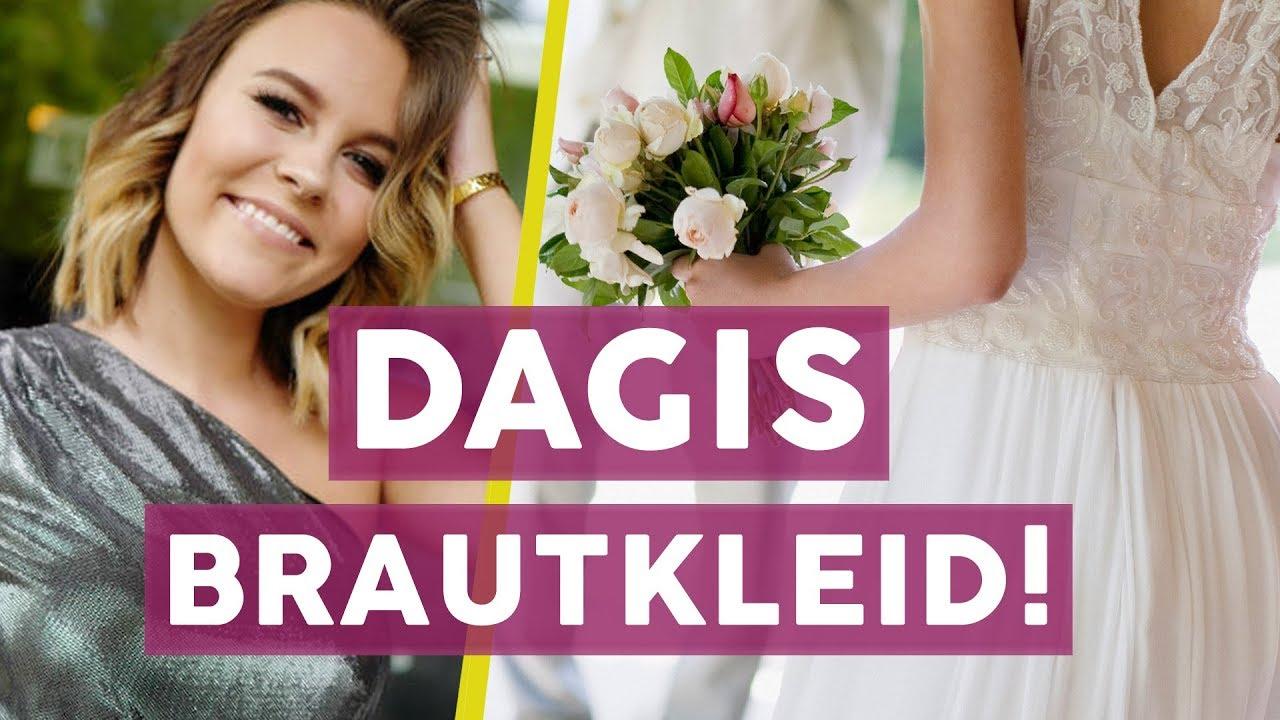 Dagi Bee Hochzeit: ALLES zu Dagis Brautkleid 👰   STARS - YouTube
