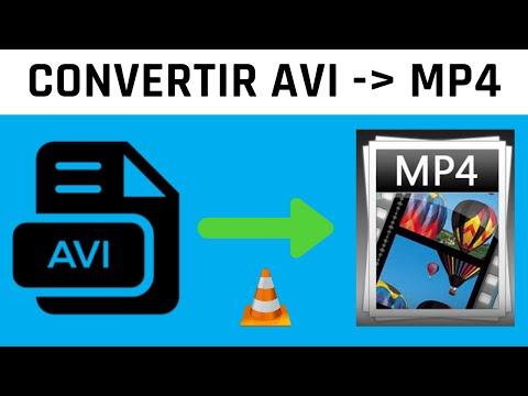 Comment convertir AVI en MP4 avec VLC