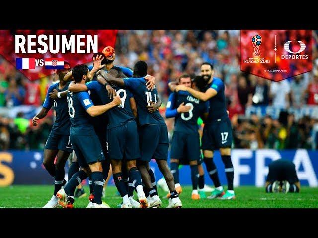 ¡Tenemos Campeón Mundial! | Francia 4 - 2 Croacia | Mundial Rusia 2018