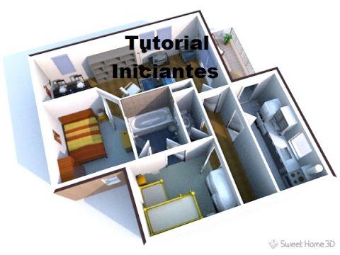Criação De Planta De Casa Em 3d No Sweet Home 3d