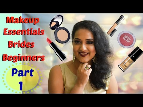 Makeup Essentials for brides and Beginners| Part 1|   Perkymegs