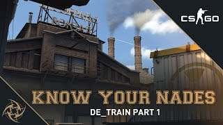 NiP - Know your Nades | Train - T Side | A Site | Part One