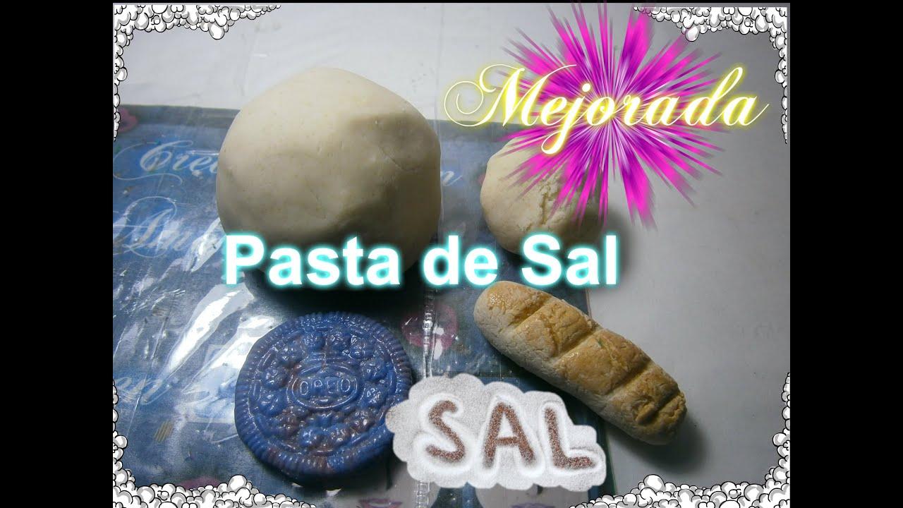pasta de sal como hacer pasta flexible fimo casero masa