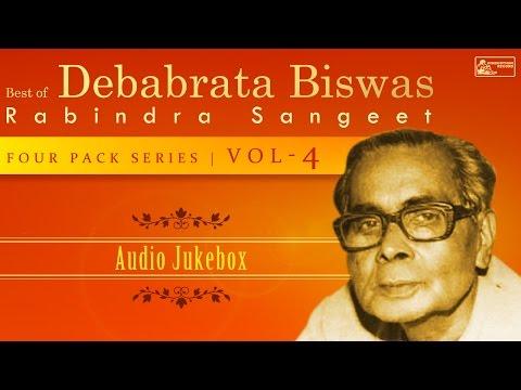 Best Of Debabrata Biswas Vol-4 | Rabindra Sangeet | 4 Pack Series