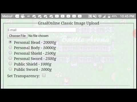 How to upload|Graal Online Classic