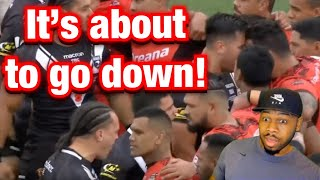 HAKA ALMOST TURNED THIS RUGBY MATCH INTO A BRAWL!!