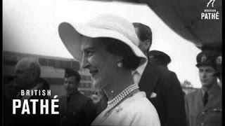 New York News - Duchess Of Kent Arrives In New York (1954) Video