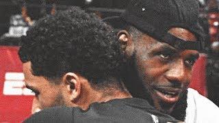 Lebron James Celebrates LA Lakers Josh Hart WINNING Summer League MVP!