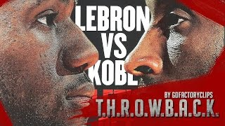 throwback lebron james vs kobe bryant full duel highlights 2010 01 21 cavaliers vs lakers sick