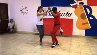 BachaTU 2015. Bachata workshop Pipo Alcala & Maria Kozlovskaya BailaMar. Доминиканская бачата
