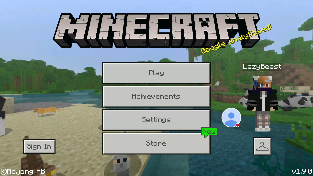 How to change your skin and chang your name in Minecraft Pocket
