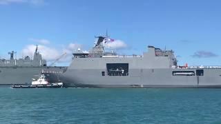 Philippine Navy's BRP Davao del Sur(LD-602) Now in Pearl Harbor for RIMPAC 2018