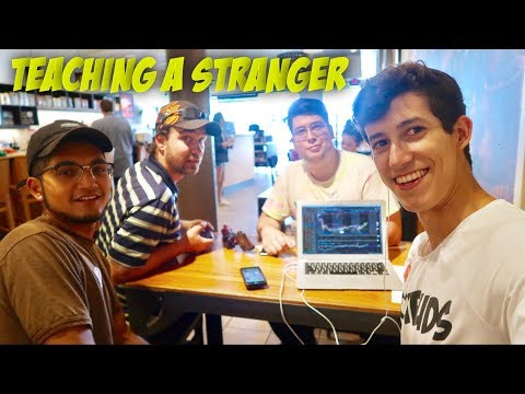 Teaching A Stranger How To Invest In The Stock Market | In 30 Mins