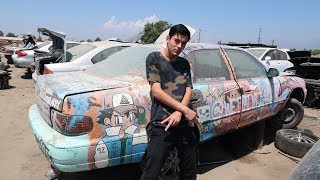 THE CRAZIEST THING WE'VE EVER SEEN AT A JUNKYARD!