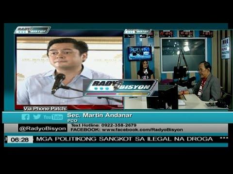 RADYOBISYON W/ PCO SEC. MARTIN ANDANAR (THUR. AUG 18, 2016)