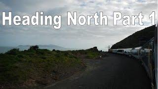 New Zealand Trains - Heading North Part 1 HD