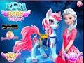 [Dress Up Games] Elsa Pony Caring - Game For kids