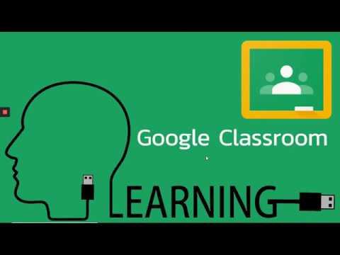 Google Classroom EP.3 (การสร้างโครงสร้างเนื้อหาและสื่อการสอนต่างๆ)