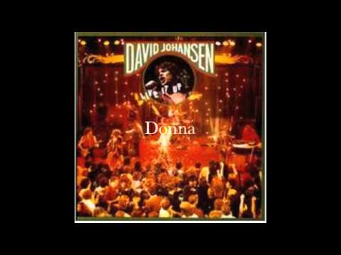 David Johansen - Donna