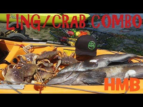 Half Moon Bay Lingcod And Crab Combo