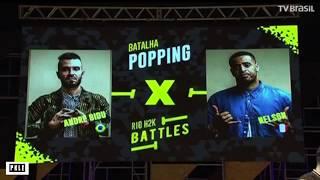 BIDU (BRA) VS NELSON (FRA) RIO H2K BATTLES -POPPING FINAL 2K17