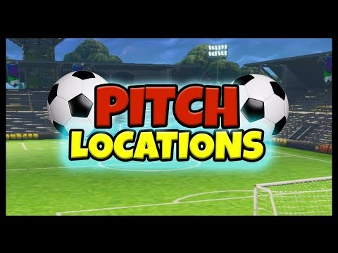 Fortnite: Football / Soccer Pitch Locations