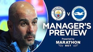 PEP PRESS CONFERENCE | CITY V BRIGHTON | FA CUP SEMI-FINAL