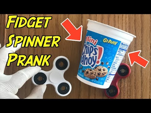 Fidget Spinner Cup Prank Guaranteed To Work (Try It Now) HOW TO PRANK