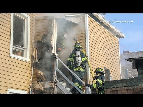 Pembroke St. 2nd Alarm (Bridgeport CT) 3/16/18