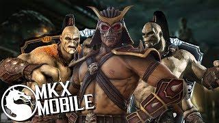 КОМАНДА ИЗ НОВЫХ ПЕРСОНАЖЕЙ • ОБНОВЛЕНИЕ 1.15 • Mortal Kombat X Mobile