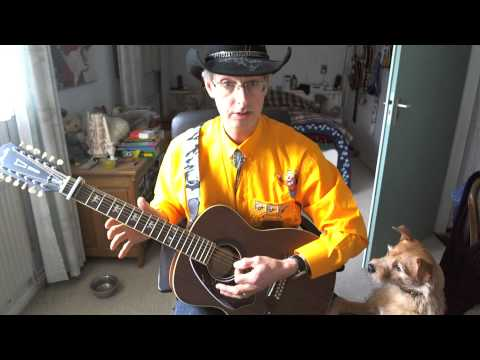 Guitar lesson 009G-Calm After The Storm