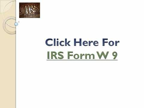 Tax Information Form W 9 Requirements Youtube