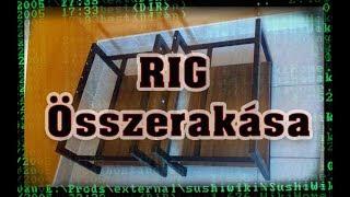 bitcoin bányászati rig épít)