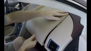 How to Install the Passenger Side Dash Panels into an Aston Martin DB9