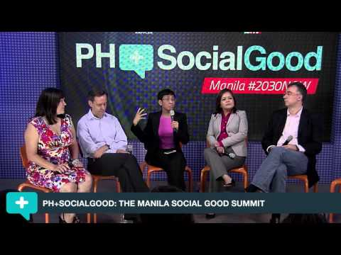 Panel on The Future of News at the PH+SocialGood: Manila Journalism Forum