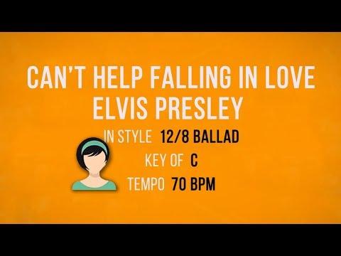 Cant Help Falling In Love - Elvis - Karaoke Female Backing Track
